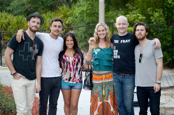 Crystal & I with The Fray in St. Augustine