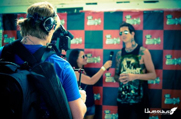 Interviewing Austin Carlile-- Of Mice & MenPhoto Credit: Crystal Bos (Unbound Photography)