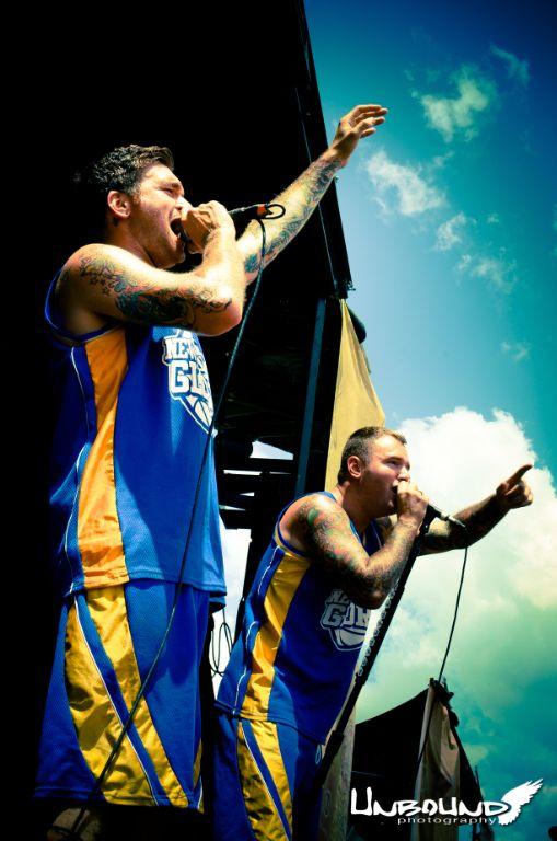 Jordan & Chad-- New Found Glory