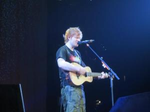 Ed Sheeran opening for Taylor Swift in 2013. Yes, I was THAT close.