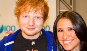 My first interview with Ed in 2012 at Y100's Jingle Ball in Miami.